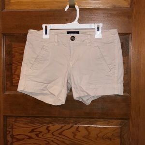 American Eagle Blush Pink Khaki Shorts